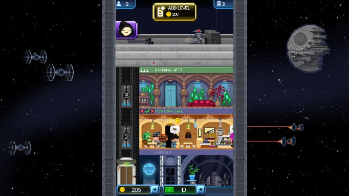 Android Star Wars: Tiny Death Star Oyunu